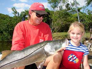 Snook fishing in Venice FL